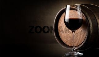 Wine on brown