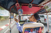THAILAND CHIANG RAI TRANSPORT TAXI TUK TUK