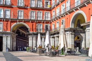 The Plaza Mayor of Madrid or Main Square