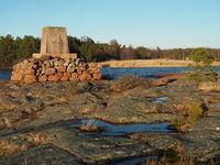Post Workers memorial, Eckerö, Aland