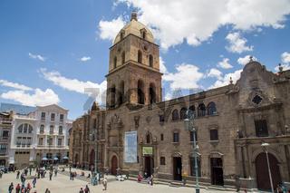 San Francisco Church in La Paz, Bolivia