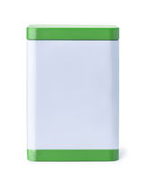 Blank kitchen storage tin container