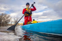 stand up paddling winter training