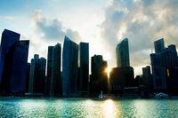 Singapore silhouette