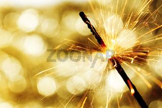 sparkler on bokeh background sparkler on bokeh background