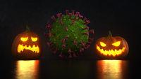 Coronavirus Crisis Halloween