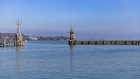 harbour exit of Constance, Germany