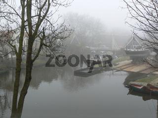 Werft in Edam, Holland