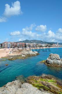 Lloret de Mar an der Costa Brava,Katalonien,Mittelmeer,Spanien