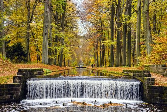 Ludwigslust Canal, Castle Park, Ludwigslust