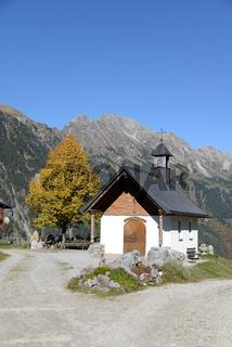Kapelle in Sonntag-Stein, Vorarlberg