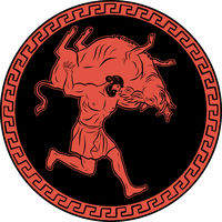 Erymanthian Boar. 12 Labours of Hercules Heracles