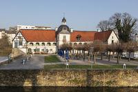 Water castle House Rodenberg, Aplerbeck, Dortmund, Ruhr area, North Rhine-Westphalia, Germany, Europ