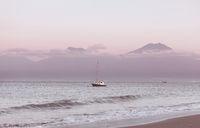 Bali coast