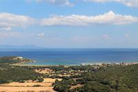 Macinaggio on French island Corsica