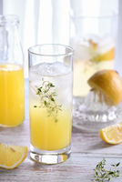 Easy summer cocktail ( Limoncello)  fresh lemon juice, vodka and club soda or sparkling water. This