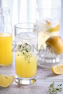 Easy fruit vodka soda. Limoncello