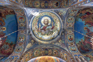 St. Petersburg Russia. Church of the savior on the spilled blood