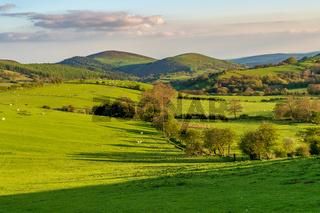 Shropshire landscape, England, UK