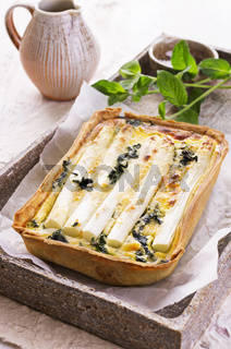 quiche with asparagus