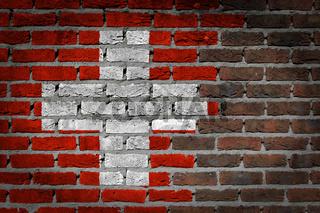Dark brick wall - Switzerland