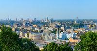 Kiev panorama Podil Ukraine