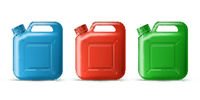 Set of Plastic Canister for storing Oil, Detergent, Liquid Soap, Milk or Juice