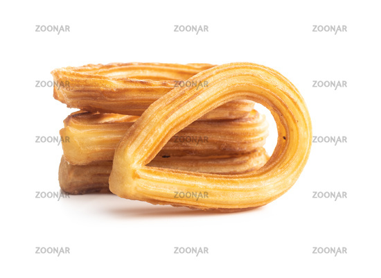 Tasty fried churros