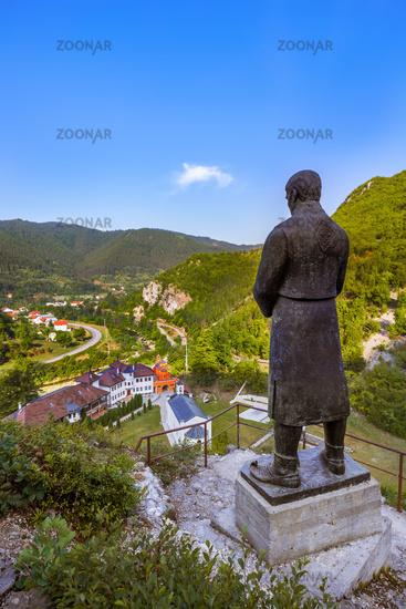 The medieval monastery Dobrun in Bosnia and Herzegovina