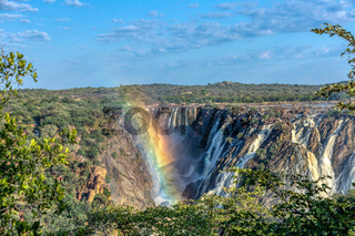 Ruacana Falls on the Kunene River, Namibia Africa