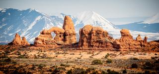 Arches National Park in Utah - famous landmark
