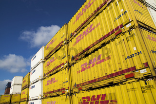Im Dortmunder Containerhafen, Deutschland