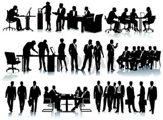 Büro und Mitarbeiter.eps