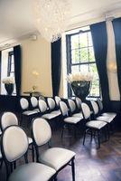 empty ceremonial  hall