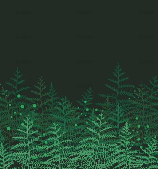 Natural background with bracken