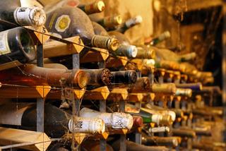 Alte Weinflaschen