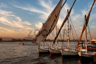 River Nile at Luxor, Egypt
