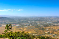 View over Mekele city, Ethiopia