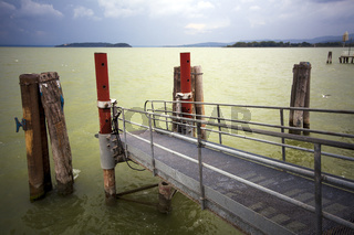 Stormy mood at Lake Trasimeno