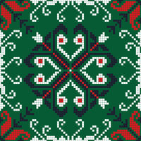 Romanian traditional pattern 188