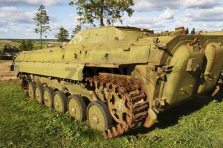 Der Schützenpanzer BMP-2.