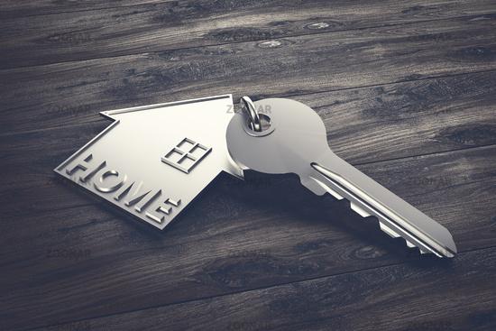 House Key - Illustration