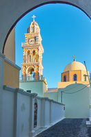 St. John the Baptist Cathedral iin Santorini