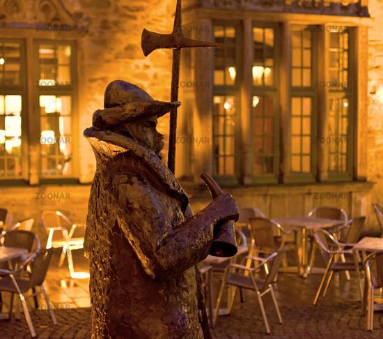 Historical City Rinteln, Germany