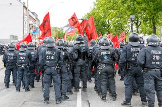 May Day 2014 in Hamburg