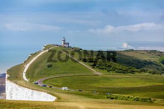 The Belle Toute Lighthouse near Beachey Head