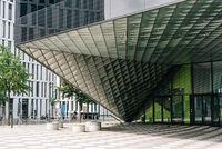 Exterior view of Futurium Building in Berlin