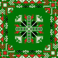 Romanian traditional pattern 184