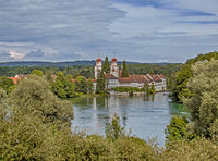 Rheinau Abbey, Canton of Zurich, Switzerland