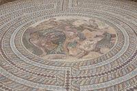 Bodenmosaik,  Archäologischer Park Pafos